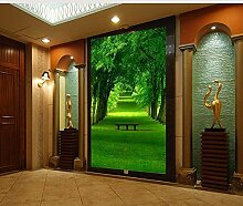 LHDLily 3D-Stereo-Tv-Sofa Hintergrund Wallpaper