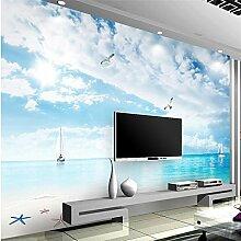 LHDLily 3D Tapete 3D Wallpaper Fresken Wandbilder