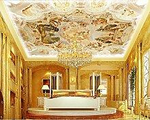 lhdlily 3D Tapete Fresco Wandbild Aufkleber europäischen Große Gemälde 3D Wandbild Tapete BARM Custom Luxus Hotel Bar Tapete Wandbild