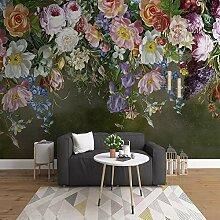 LHDLily 3D Wandbild Tapete Wallpaper Fresken Mural