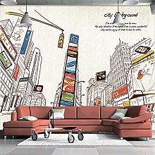 LHDLily 3D Wandbild Wohnzimmer Sofa Tv Esszimmer