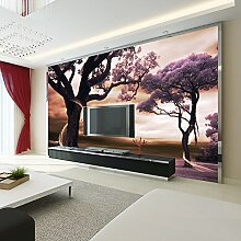 LHDLily Große Wandmalerei Hintergrund Tapete Wohnzimmer Sofa 3D Wallpaper Wandbild 150cmX100cm