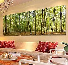LHDLily Großes Wandbild Tapeten Schlafzimmer Tv