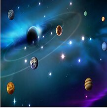 LHDLily Star Sky 3D Wandbild Tapete An Der Decke 150Cmx100Cm