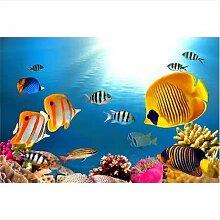 LHDLily Unterwasser 3D'S Aquarium Koralle