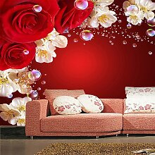 LHDLily Wallpaper Wandbild Schlafzimmer Sofa Tv