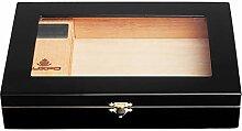 LHFJ Zigarren-Humidor-Zedernholz-Zigarrenetui