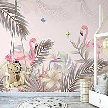 LHGBGBLN 3D Wohnzimmer Wandbild Tapete Pflanze