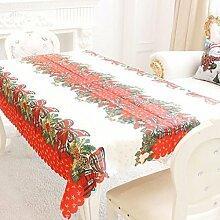 LHGS Weihnachts-Tischdecke, Dekoration,
