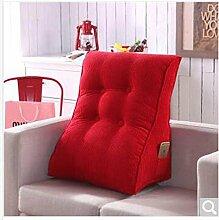 lhl-standard Kissen dreidimensionale dreieckig Kissen Bett Kissen Kissen Mais Lendenwirbelstütze Bürostuhl Betten/Sofa/Lenden kissen, baumwolle, B, L