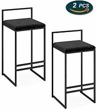 LHNLY-Esszimmerstühle Tresenhocker Küche Hausbar