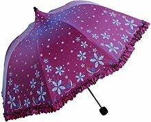 LHP Sonnenschutz Anti-Ultraviolett Sonne / Regen Regenschirm Regenschirm High-End ( farbe : C )
