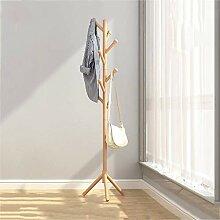 LHQ-HQ Massivholz Kleiderhaken Einfache Boden