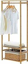 LHQ-HQ Massivholz Kleiderständer Hanger Stock