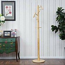 LHQ-HQ Massivholz Kleiderständer Holz Farbe