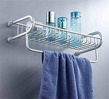 LHRain Badezimmer Küche Multifunktions-Regal / Schraube eingebettet Racks / Raum Aluminium Bad Racks Regal ( Farbe : 1* )