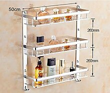 LHRain Badezimmer Regale / Raum-Aluminium Handtuchhalter / Wandbehang Bad-Accessoires Regal ( Farbe : 8# )