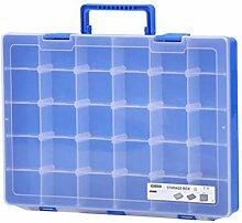 LHY SAVE Plastik Aufbewahrungsbox Mit 30 FäChern