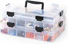LHY SAVE Plastik Aufbewahrungsbox Mit FäChern