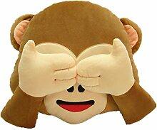 LI&HI Emoji Lachen Emoticon Kissen Polster