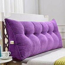 Li jing home Kissen Dreieckkissen Bett großes