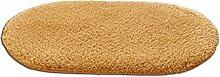 LI JING SHIOP - Badezimmer Wasserabsorption rutschfeste Fußmatten, Schlafzimmer Küche Tür kaukasisch Teppich ( Farbe : Runden , größe : 60*120cm )