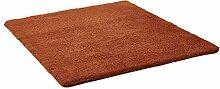 LI JING SHIOP - Badezimmer Wasserabsorption rutschfeste Fußmatten, Schlafzimmer Küche Tür brauner Teppich ( Farbe : Platz , größe : 60*160CM )
