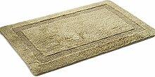 LI JING SHIOP - Sided Thicker Water Absorption Teppich, Küche Badezimmer mit Bad Wohnzimmer Fußpolster Rutschfeste Matte, Farbe: Grün / Blau, Größe: 40 * 6CM / 45 * 70CM / 50 * 80CM / 60 * 90CM / 100 * 150CM ( Farbe : Grün , größe : 45*70CM )