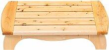 LI JING SHOP - Badezimmer-Hocker Rutschfester Holz-Hocker Tür-Hocker Badezimmer-Bad-Hocker Fußbank Schuh-Hocker wechseln