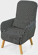 LI JING SHOP - Po mother Stillstuhl Klappstuhl Stillstuhl mit waschbarem Baumwoll- und Leinenmantel und seitlicher Aufbewahrungstasche ( Farbe : Zebra , größe : 62*50*95cm )