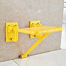 LI JING SHOP - Sicherheits-Bad Klapp-Hocker Klappstuhl Alter Mann Mit Beinen Bad Stuhl nehmen eine Dusche Wand Stuhl Schuh-Hocker wechseln