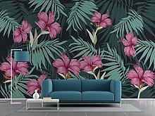 LI Wallpaper Fototapete 3D Effekt Tapete Pflanze