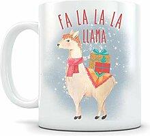 Li6454e Fa-La-La-Lama-Weihnachtsbecher