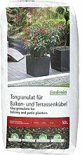 Liadrain S Tongranulat für Balkon-und