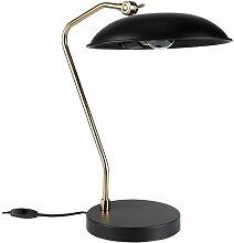 Liam Schwarze Schreibtischlampe