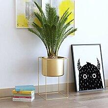 LIAN Blumenregal Wohnzimmer Metall Bodenständer