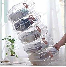 LIAN Schuh Box Aufbewahrungsbox Transparent