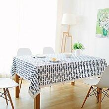 LIAN Tischtuch Tischdecke Tuch Läufer Tee