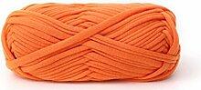 Liancany 100g Gewebt Baumwolle Stoff Wolle Garn