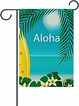 LIANCHENYI Aloha Surf Board mit Palm doppelseitig
