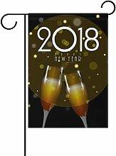 LIANCHENYI Champagner für neue Jahr doppelseitig