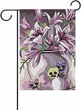 LIANCHENYI elegant, Blumen-Flagge, Polyester,