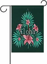 LIANCHENYI Hawaii Aloha mit, doppelseitig,
