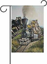 LIANCHENYI Lokomotive, Eisenbahn,-Flagge,