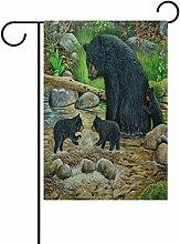 LIANCHENYI schwarz, Party, Garten, Wand, 28x 40,