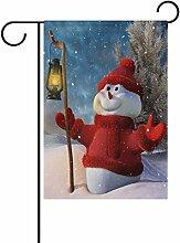 LIANCHENYI Weihnachten lächelnder Schneemann mit