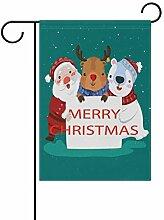 LIANCHENYI Weihnachtsmann mit Schneemann