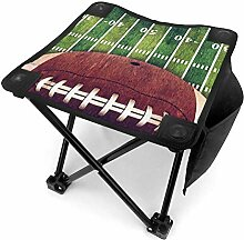 liang4268 Camping Hocker American Football Field