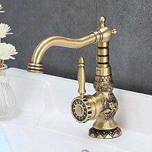LIANGANAN Europäischer Wasserhahn mit warmem und