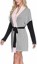 LiangDa Damen Pyjama Sets Frauen Kimono Roben